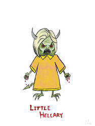Little Hellary by 147CombatMedic