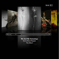 Flash iTunes Albumart Viewer by richardddd