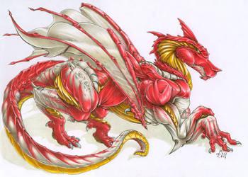 Royal Dragon by maumanga