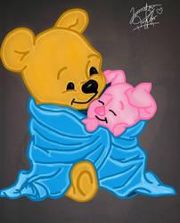 {Blanket Buddies} [Weenie The Pooh] by misskawaiipotato