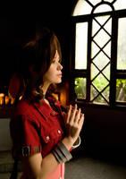 Aerith Gainsborough by Aelyin-Cosplay