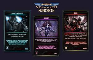 Munchkin Voidwalker cards concept #1 by R1EMaNN