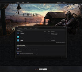 Stalker-Gsc site design beta by R1EMaNN