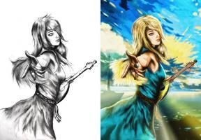 Essi Daven (progress) by R1EMaNN