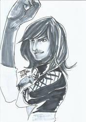 DoodleTu sketch - Kamala Khan by tamtu