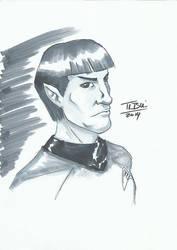 DoodleTu sketch - Spock by tamtu