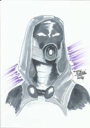 DoodleTu sketch - Tali'Zorah by tamtu
