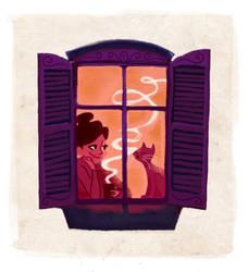 Windowsill by govango