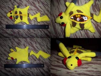 Dice Bag for Sale Pikachu by LilyuKitty1-18-21
