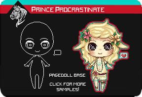 [ P2U ] Pagedoll Base by PrinceProcrastinate