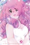 Rose Quartz by Art-on-a-Stick