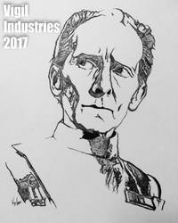 Grand Moff Tarkin by RonnieLee68