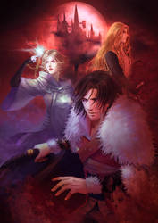 Castlevania anime version by kyliemizhi