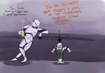 Stormtroopers Coffee pt 3 by reelzmanimation