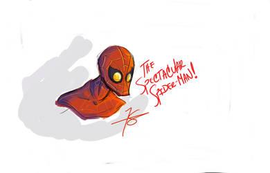 The Spectacular SpiderMan by reelzmanimation