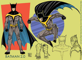 Project Rooftop- Batman 2.0 by MikeDimayuga