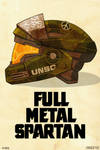 Full Metal Spartan by MikeDimayuga