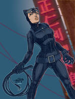 Catwoman by MikeDimayuga