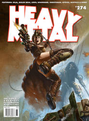 Heavy Metal 274 Cover by madadman