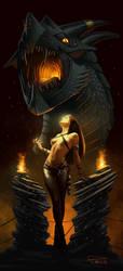 Dragon Witch by madadman