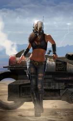 Apocalypse Girl by madadman