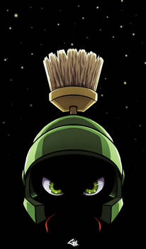 Marvin the Martian Emperor by G-Chris