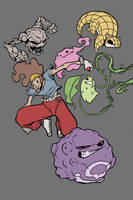 Pokemon Commission W.I.P Flats by G-Chris