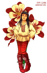 AG Flowers: Ivy Ling by Miss-Alex-Aphey
