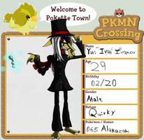 PKMN-Crossing Aplication:Ivan by Darkm00nShine