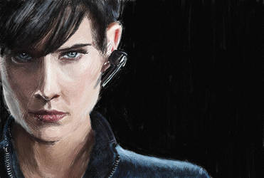 Agent Maria Hill - Part III by iamjamesporter