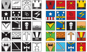 20 Marvel Hero Icons by iamjamesporter