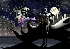 Commission 001 - Batman by iamjamesporter