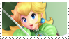 Princess Peach Stamp (Green) by princess--magician