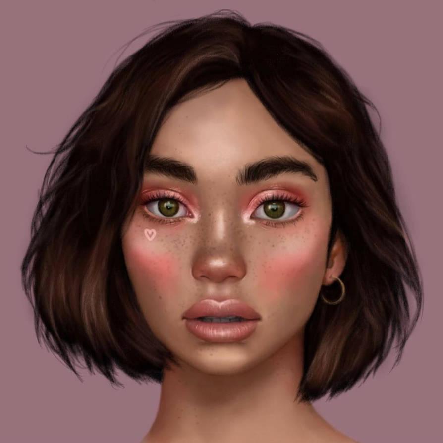 Another portrait reference christina nadin