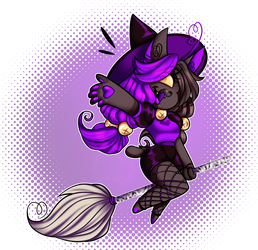 Spoopy Season Cleo | Collab by TwistedDisaster