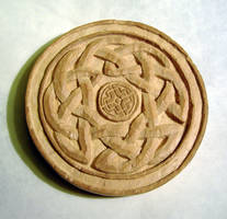 Carved Celtic Tree Of Life unpainted by Clisair