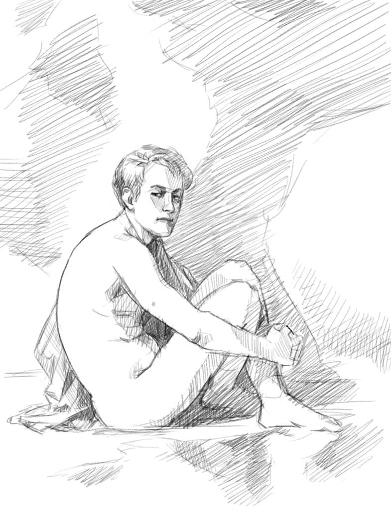 Sketch - The Boy by sosQsos