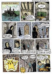 Hogwarts Menu by Domigorgon