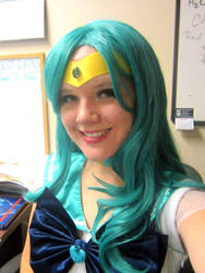 Sailor Neptune Cosplay by usagisailor