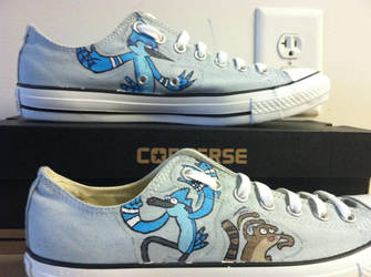 Regular Show Converses by oHmega14