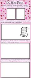 OC Blind Date Meme: Blank Meme by haxor478