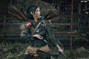 Raider Bowgirl by NuclearSnailStudios