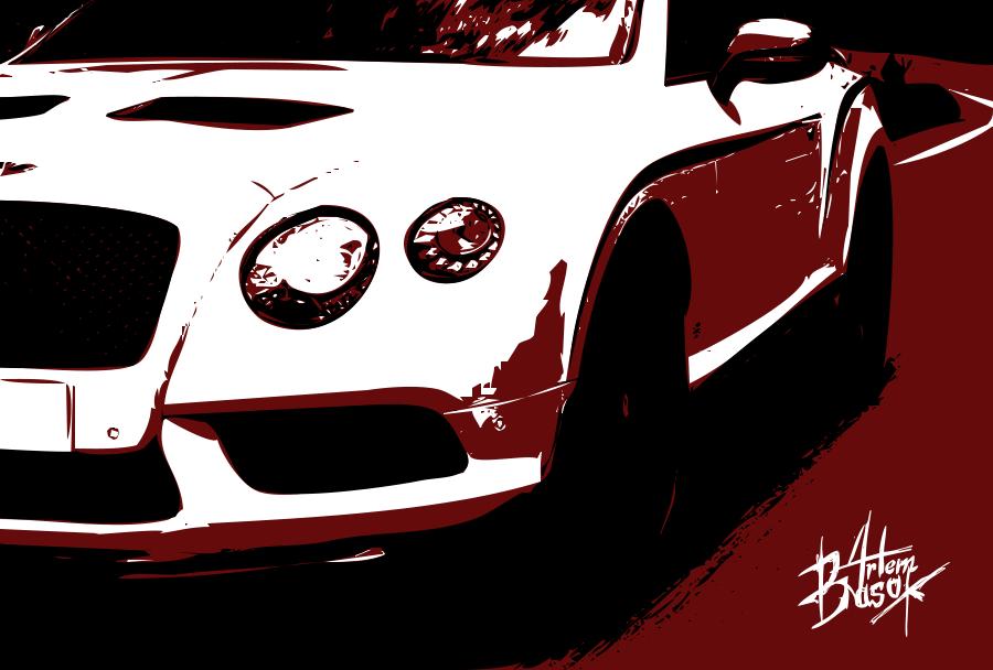 Bentley Design In Vector By Artem Basok By Artembasokofficial On