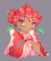 [FANART] POMEGRANATE COOKIE - COOKIE RUN by o0Lucia0o
