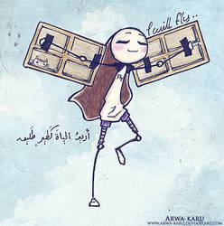 i can fly high by arwa-karu