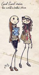 good friends by arwa-karu