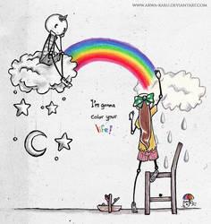 gonna color ur life by arwa-karu