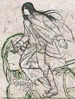 Free Sketch 07 - Rajaion by Meibatsu