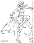 Fire Emblem - Lakche bw by Meibatsu