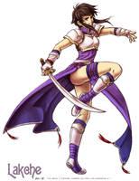 Fire Emblem Princess Lakche by Meibatsu